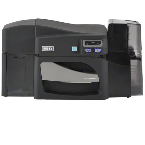 Fargo DTC4500e ID Card Printer: 55010