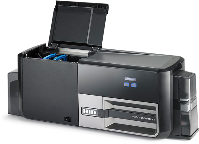 Fargo DTC5500LMX Card Printer