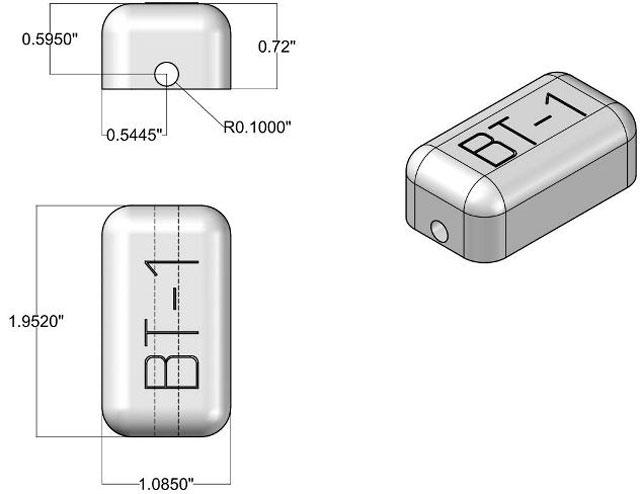 Frick Bluetooth-1 RFID Tags RFID Tag: WF-SM-BT1HT
