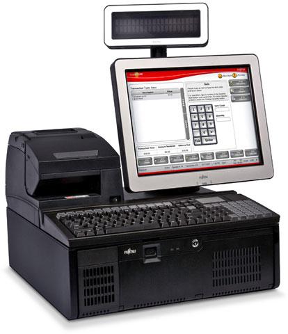 Fujitsu TeamPoS 3600 Series POS Terminal