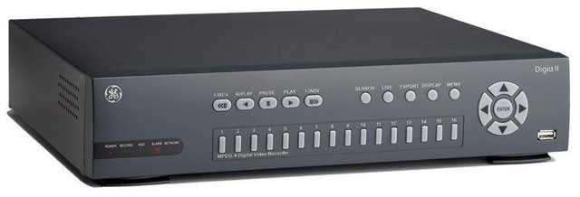 ge security digia ii series surveillance dvr best price available rh barcodesinc com Digia II Software Mobile Phone Logo