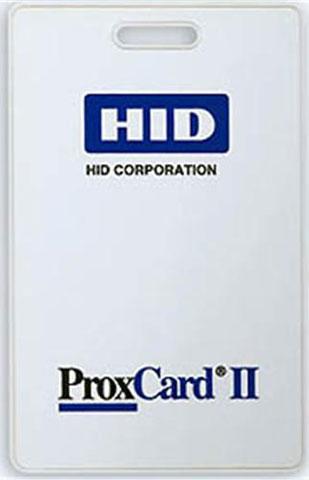 HID 1324 Adhesive Label Plastic ID Card: 1324GAV21