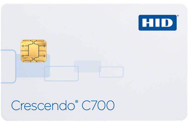HID Crescendo Series Access Control Card