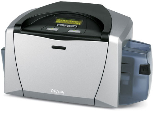 HID DTC400e Photo ID System Card Printer
