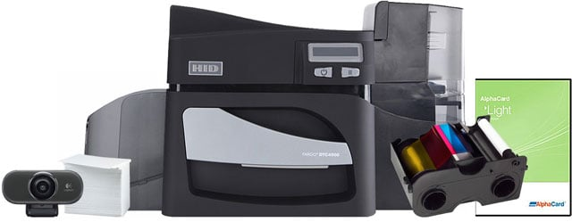 HID DTC4500 ID Card Printer Systems ID Card Printer System