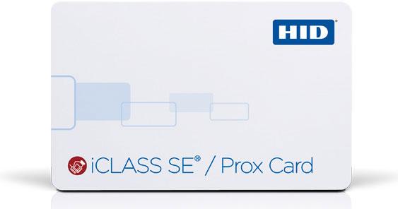HID iCLASS SE Card