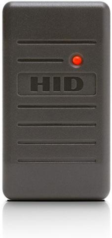 HID ProxPoint Plus Grey Mini Mullion Access Control Reader