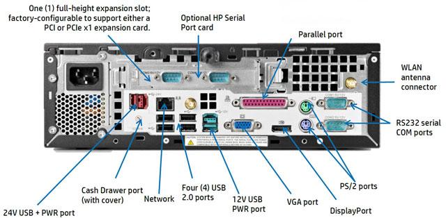 HP RP3100 POS Terminal