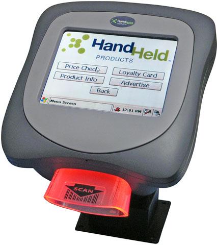 Hand Held ImageKiosk 8560 Terminal