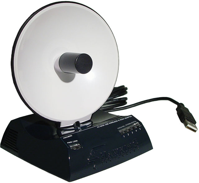 Hawking Hi-Gain USB Wireless-G Dish Adapter В США цена при прямых поставках