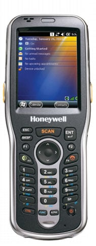 Honeywell Dolphin 6110 - Wi-Fi(802.11a/b/g/n), Bluetooth, 28-key, 2D Imager  Scanner, 512MB x 512MB, Extended Battery, WEH 6.5 English, Hand strap,  Stylus.