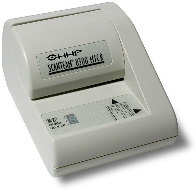 Honeywell ScanTeam ST 8300 Check Reader