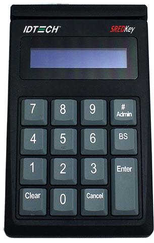 IDTech SREDKey Card Reader: IDSK-534833TEB