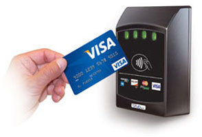 Image result for kiosk contactless reader