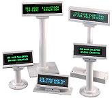IEE Vacuum Flourescent Series Customer Display