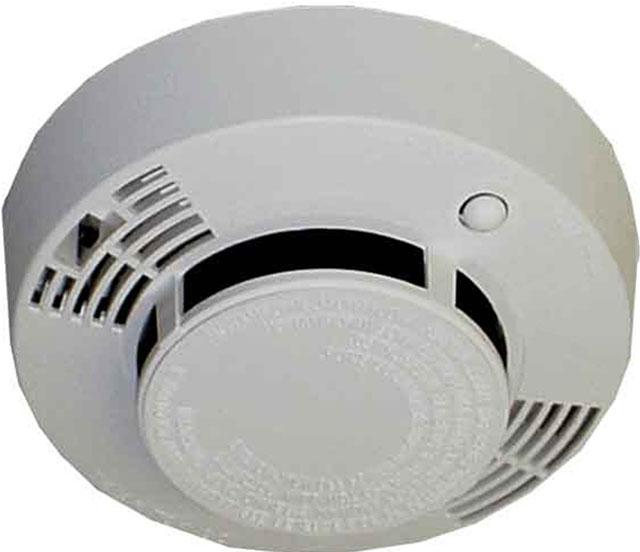 Insite Video Systems 2725 Smoke Detector Surveillance Camera