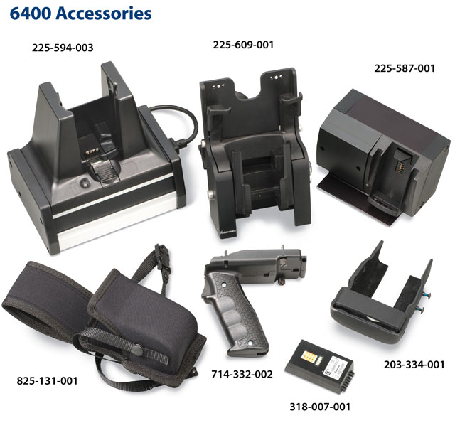 Intermec 6400 Accessories