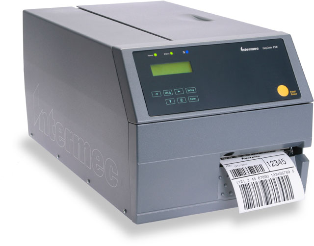 Intermec EasyCoder PX4i Barcode Label Printer: PX4C011000000040