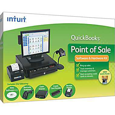Intuit Quickbooks Point Of Sale Basic Pos Software Best