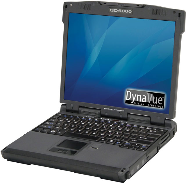 Itronix GD6000 Rugged Laptop Computer