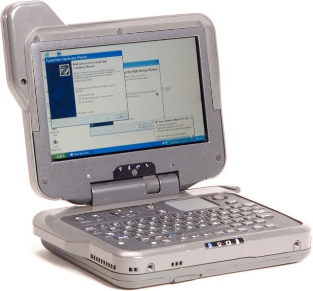 itronix mr-1 umpc rugged laptop computer