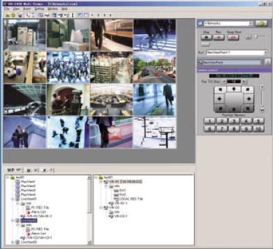 JVC VN-S400U Multi-Viewer Surveillance Camera Software