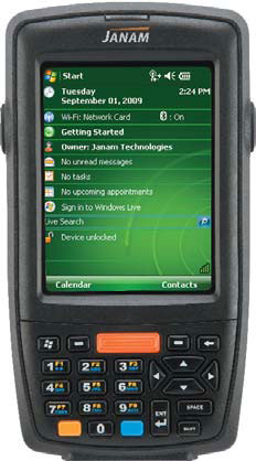 Janam XM66AM Mobile Computer