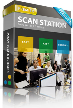 Jolly Scan Station Membership Software