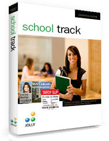 Jolly School Track ID Card Software