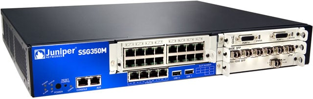 Juniper SSG300 Series Data Networking Device