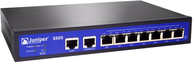 Juniper SSG5 Data Networking Device
