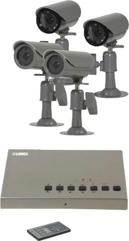 LOREX SHS-4QM2 Surveillance Camera System