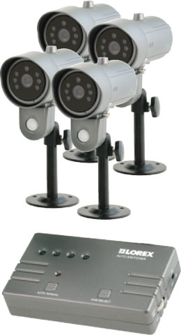 LOREX SHS-4SM Surveillance Camera System