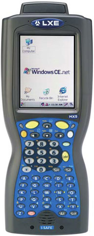 LXE MX5 I-Safe Mobile Computer