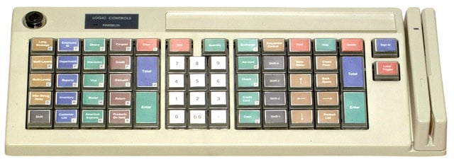Logic Controls KB5000 Programmable Keyboard Keyboard