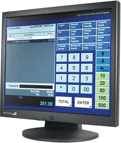 Logic Controls LE1017 Series Touchscreen