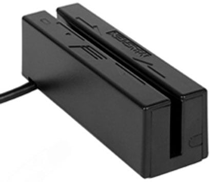 MagTek MiniUSB Stripe Reader Card Reader: 21040102