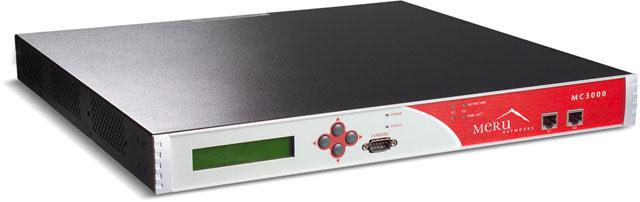 Meru MC3000 Series Wireless Controller