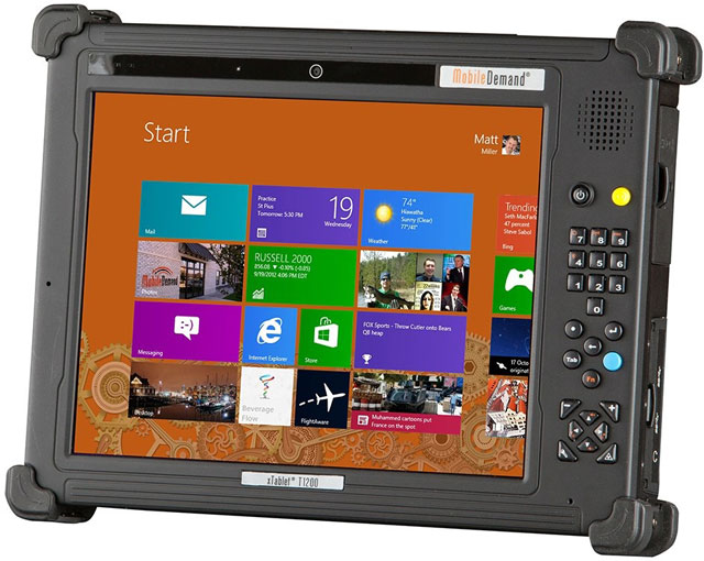 MobileDemand xTablet T1200 Tablet Computer
