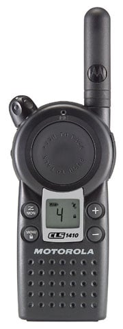 Motorola CLS1410 2-way Radio