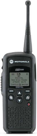 Motorola DTR550 2-way Radio