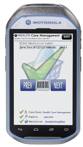 Motorola MC40-HC Portable Data Terminal: MC40N0-HLK3R01