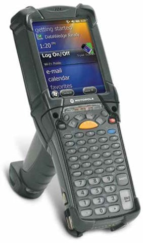 Motorola MC9200 Portable Data Terminal: MC92N0-GA0SXFYA5WR