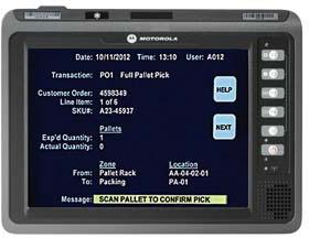 Motorola VC70N0 Terminal