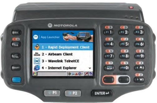 Motorola WT41N0 Portable Data Terminal: WT41N0-N2S27ER