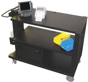 Newcastle Systems PC Series Picking Mobile Cart