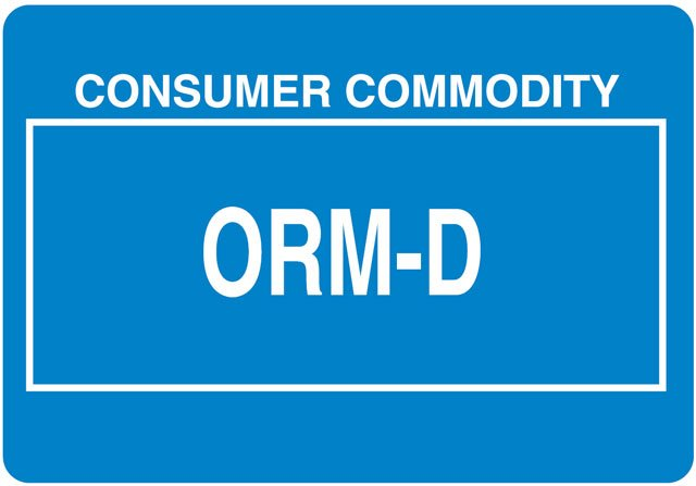 photo regarding Orm-d Label Printable referred to as Other Controlled Written content ORM-D Label - Ideal Price tag Offered
