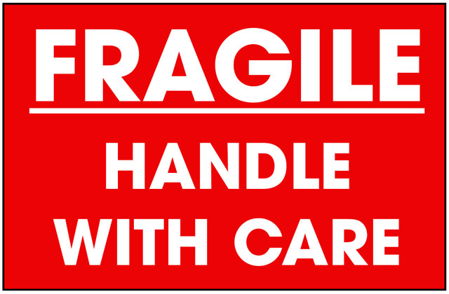 Packing Fragile Label - Best Price Available Online - Save Now