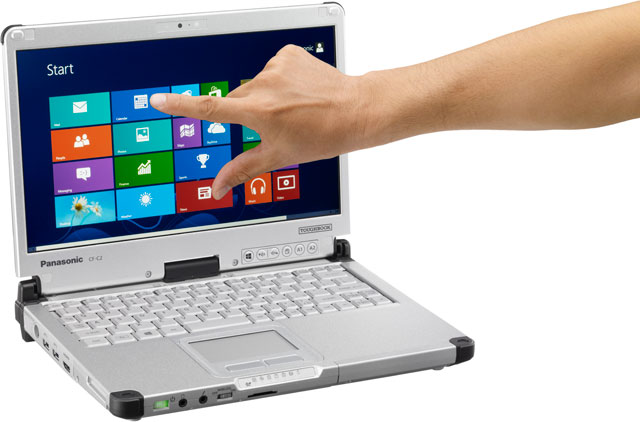 Panasonic Toughbook C2 Rugged Laptop Computer