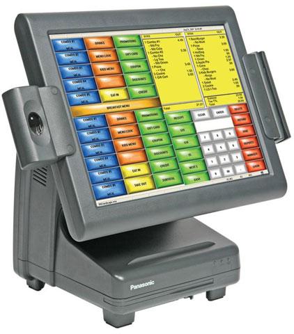 Panasonic Lite-Ray POS Terminal